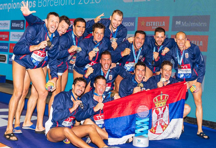Vaterpolisti Srbije pobedili Mađarsku u Segedinu (13:10)